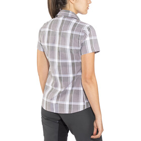 Shimano Transit Check Button Up SS Shirt Damen shark